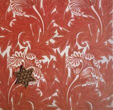 "Art Print William Morris Wall Paper Sample Repro 11"" x 15"" See Variety"