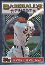 1993 Topps Finest Baseball #66 Bobby Bonilla New York Mets