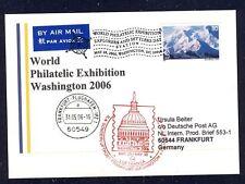 18711) LH SF Washington-Francoforte 30.5.2006 so-KTE