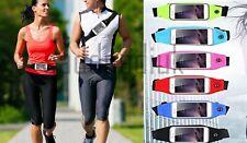 Waterproof Sports Running Gym Jogging Adjustable Waist Belt Bag for Mobile Phone