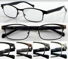 L421 Wayfarer Reading Glasses/Spring Hinges/Simple & Modern Designs/Smart Look