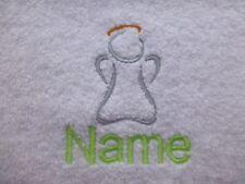 ENGEL und Personalisierter Name Bestickt bis zu Handtücher,Bademäntel,Kapuzen