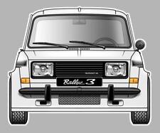 Sticker SIMCA 1000 Rallye 3