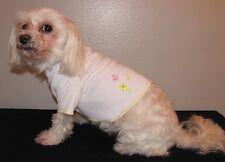 Tulip & Butterflies Knit Shirt Dog Puppy Teacup Pet T-Shirt Clothes XXXS - Large