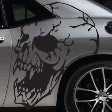 Dodge HellCat Mopar Skull Grunge Vehicle Graphic Decal Side Challenger Charger