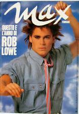 Max-'87-ROB LOWE,Michelle Bauer,Harrison Ford,Rudger Hauer,Prisca Dindo,Pomodoro