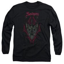 Hobbit Evil's Helm Mens Long Sleeve Shirt