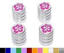 Hibiscus Flower - Wheel Tire Rim Valve Stem Caps - Colors