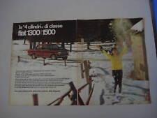 advertising Pubblicità 1964 FIAT 1300/1500