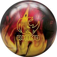 Brunswick Rhino Red/Black/Gold Pearl Bowling Ball