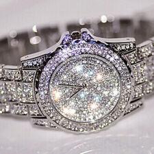 Ladies Bling Watches Fashion Diamond Rhinestone Wristwatch Quartz Watch Gift