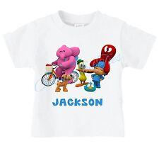 Pocoyo Elly Pato Custom t-shirt Personalize Birthday - ADD A NAME
