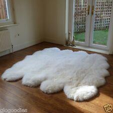Natural Octo Sheepskin Rug - Soft, Fluffy, Thick & Shaggy Large 8 Pelt Sheepskin