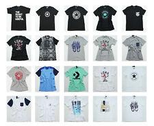 All Star Converse T - Shirt Tee Top short Sleeve Chucks Men's Crew Neck Various