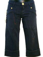 Pantaloni Capri donna TAKE TWO Ruby Tg. W28 IT 42 Jeans Cotone Stretch Blu