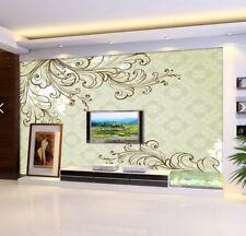 3D Vines Sketch 608 Wallpaper Murals Wall Print Wallpaper Mural AJ WALL AU Kyra