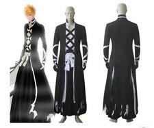 New Bleach Ichigo Kurosaki Bankai Cosplay Costume Outfit Halloween Suit
