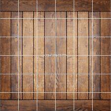 Adesivi piastrelle parete decocrazione Effetto parquet legno 1911