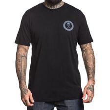 Sullen Clothing T-Shirt - Badge Of Honor Slanted Tattoo Art Skull Logo