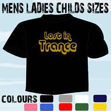 Perdu dans la transe design rétro DJ CLUBBING Ibiza T-Shirt