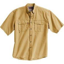 Dri Duck Traders Angler Short Sleeve Fishing Shirt Maize Nwt # 4302 Dri-Duck