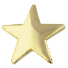 PinMart's Classic Shiny Gold Star Lapel Pin