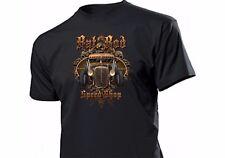 Camiseta Rat Barra SPEED TIENDA Rockabilly Kustom V8 Old Junk FLATHEAD HOT ROD