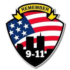 Remember 9 11 Car Laptop Phone Vinyl Sticker  - SELECT SIZE