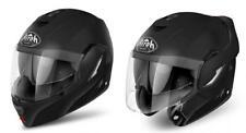 Helmet flip-up moto Airoh Rev black mat size XS S M L XL XXL casque modular helm