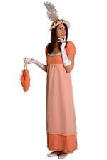 Empire Dama Traje de Teatro elegante Disfraz mujer Se produce Vestido