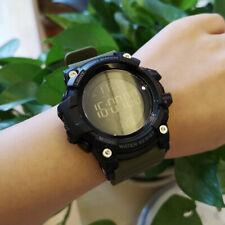 Men's Outdoor Sports Digital Wristwatch Altimeter Barometer Thermometer Compass