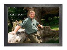 Ray Mears 1 inglés Woodsman instructor empresario autor Cartel Tv presentador