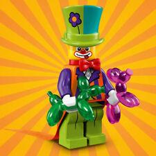 Lego party clown parts legs torso head hat balloon animal dog bow tie coattails