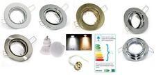 Schwenkbarer LED Einbauleuchten Tom | 230Volt | 9Watt | 720Lumen | Klemmring