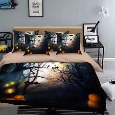 3D Äste Schwarz 907 Bett Kissenbezüge steppen Duvet Decken Set Single DE Kyra