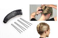 Französisch Twist HaarBrötchen Bun Frisur Frisurenhilfe Haarknoten Haarrolen W1
