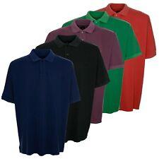 Kitaro Polo Poloshirt Herren Kurzarm Plusgröße Übergröße