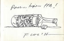 FLOC'H. Ma Vie. 1985 avec dessin original signé.