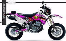 SUZUKI DRZ400S DRZ400SM DRZ400E 2000 2001 2018 MAXCROSS GRAPHIC FULL DECAL15 KIT