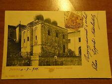 PALERMO CHIESA DI S. CATALDO ESTERNO CARTOLINA VIAGGIATA 03.07.1901 FOTO ALINARI