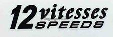 Peugeot 12 speeds decal