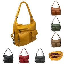 Women Faux Leather Multi Pocket Bag Ladies Casual Soft Satchel Hand bag YGC-909