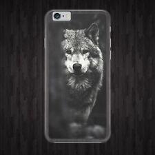 Wolf/Oscuro/Salvaje/aullidos Funda De Teléfono/se adapta a modelos IPHONE SAMSUNG HUAWEI