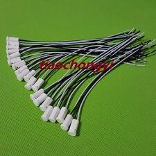 1-100pcs G4 Socket Base Holder Wire Connector for Ceramic LED Halogen Bulb Light