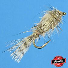 A.P. Hares Ear Natural Nymph Premium Flies -One Dozen - Sizes Available***