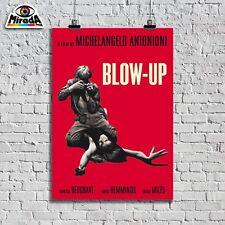 POSTER  LOCANDINA BLOW-UP MICHELANGELO ANTONIONI FILM CINEMA TOPQUALITY GRAPHICS