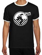 Skank to Ska Contrast Ringer Style T-Shirt