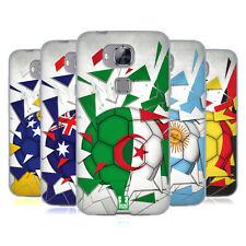Funda Funda Diseños Fútbol Breaker Gel suave Funda Para Huawei teléfonos 2