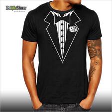 SMOKING FUNNY T-Shirt SCHERZARTIKEL GESCHENK LUSTIG Gentleman 007 James Bond NEU