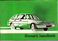 CHRYSLER TALBOT ALPINE 1976-79 ORIGINALE UK manuale GLS S